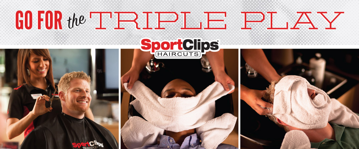 The Sport Clips Haircuts of Rutland  Triple Play