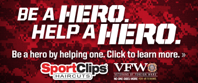 Sport Clips Haircuts of Rutland ​ Help a Hero Campaign